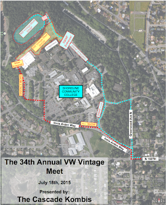 2015 Show Area Map